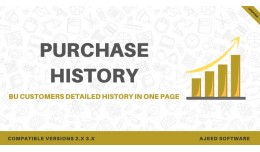 Opencart Customer Purchase History on 1 Page